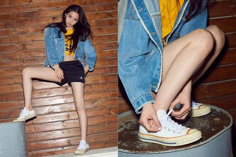 Converse Chuck 70, Converse shoes, ootd, 歐陽娜娜, 穿搭