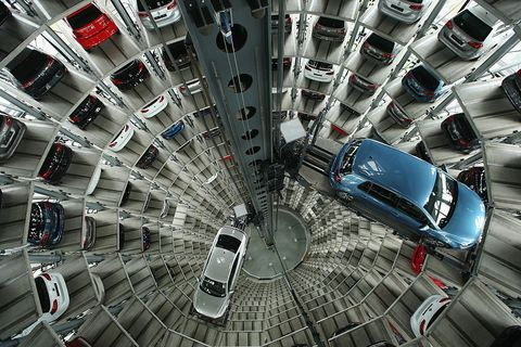 volkswagen holds annual press conference