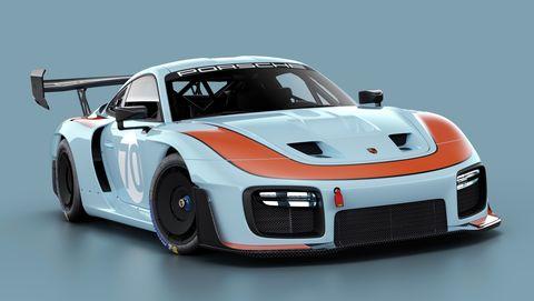 New Porsche 935 in Gulf livery
