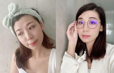 cosmo beauty pad美妝試用貼 七月 口罩眼妝、視訊眼妝