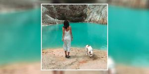 Instagrammers are visiting a lake for photos that is actually a toxic wasteland