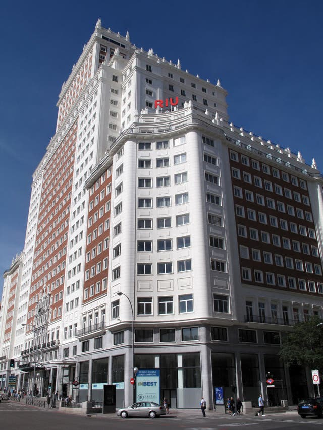 riu hotel in madrid
