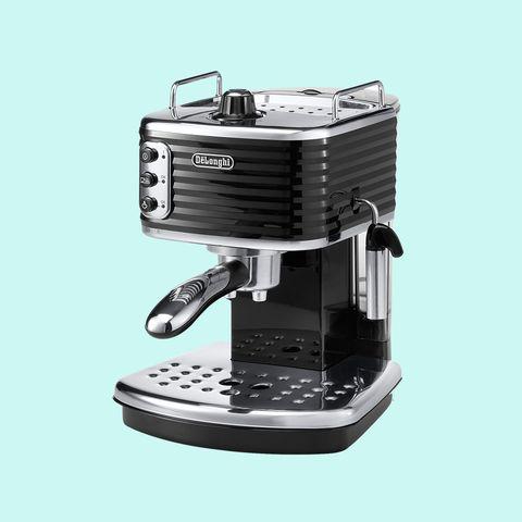 Espresso machine, Small appliance, Drip coffee maker, Coffeemaker, Home appliance, Kitchen appliance, Machine, Espresso,