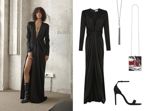 3ea8db5a5f1e The High Drama Evening Gown. image. Courtesy of Saint Laurent