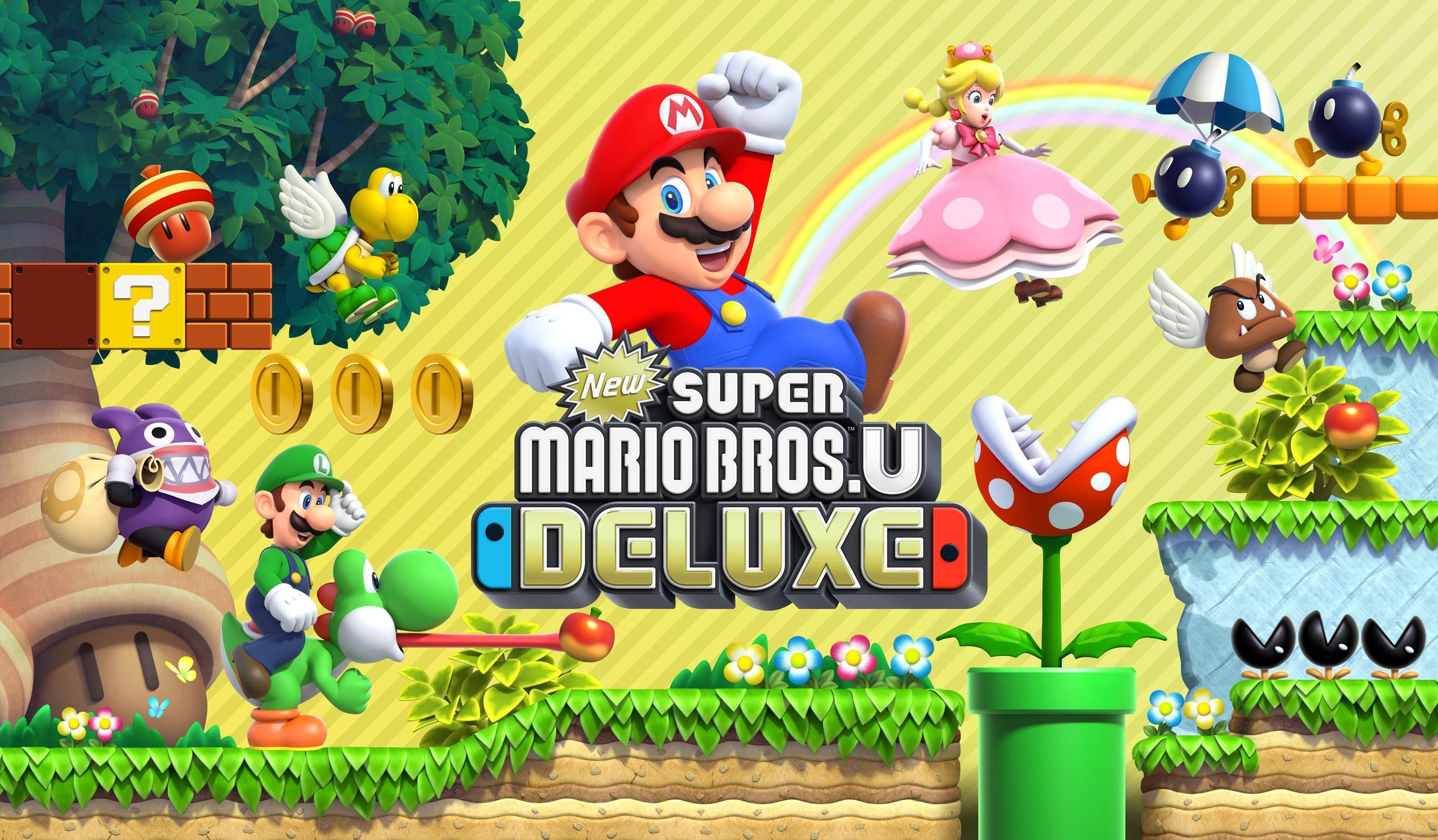 New Super Mario Bros U  Deluxe Isn't Anything New, But