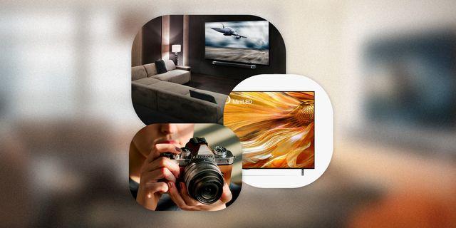new tech gadgets tv, camera, soundbar