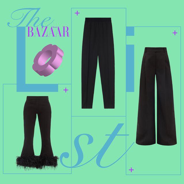 pantaloni neri 2021 eleganti