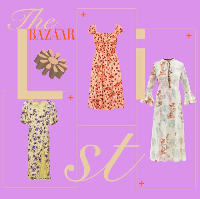 vestiti a fiori lunghi 2021