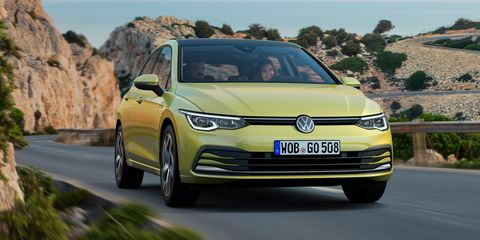 See Photos of the New Volkswagen Golf