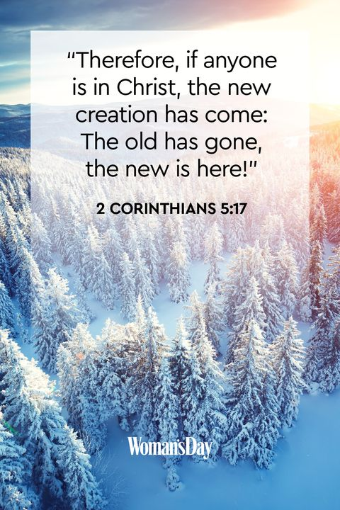 new-year-bible-verses 2 Corinthians 5:17