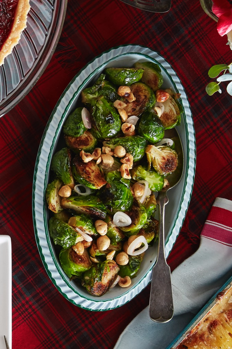 new years brussel sprouts