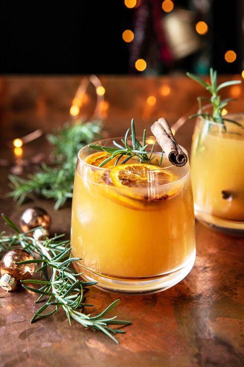 Rosemary, Drink, Food, Ingredient, Alcoholic beverage, Cocktail, Punch, Distilled beverage, Sour, Eggnog,