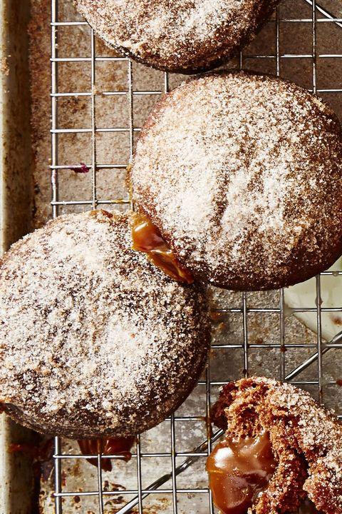new years desserts - choco-churro donuts