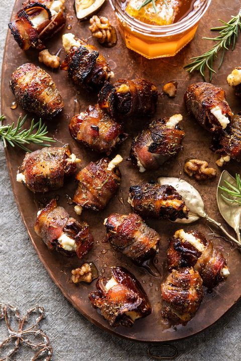 new years eve appetizers bacon dates