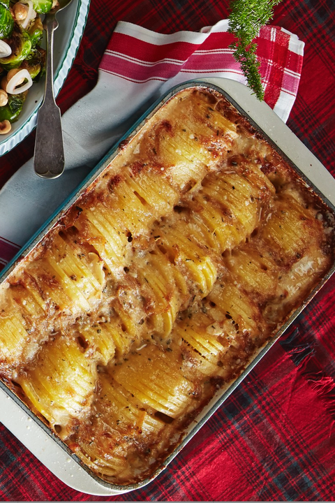 new years eve dinner ideas hasselback potatoes
