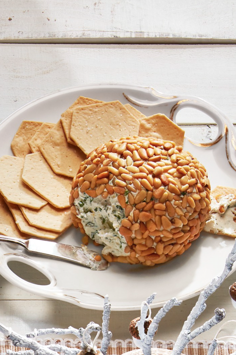 new years eve dinner ideas herbed cheeseball