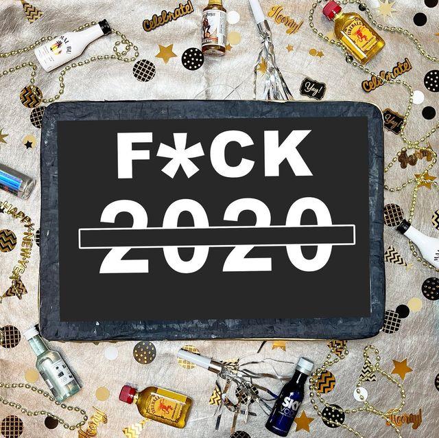 2020 new years eve pinata