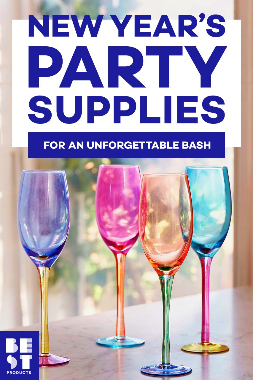 23e638d0493c 12 Best New Years Eve Party Decorations   Supplies for Ringing in 2019