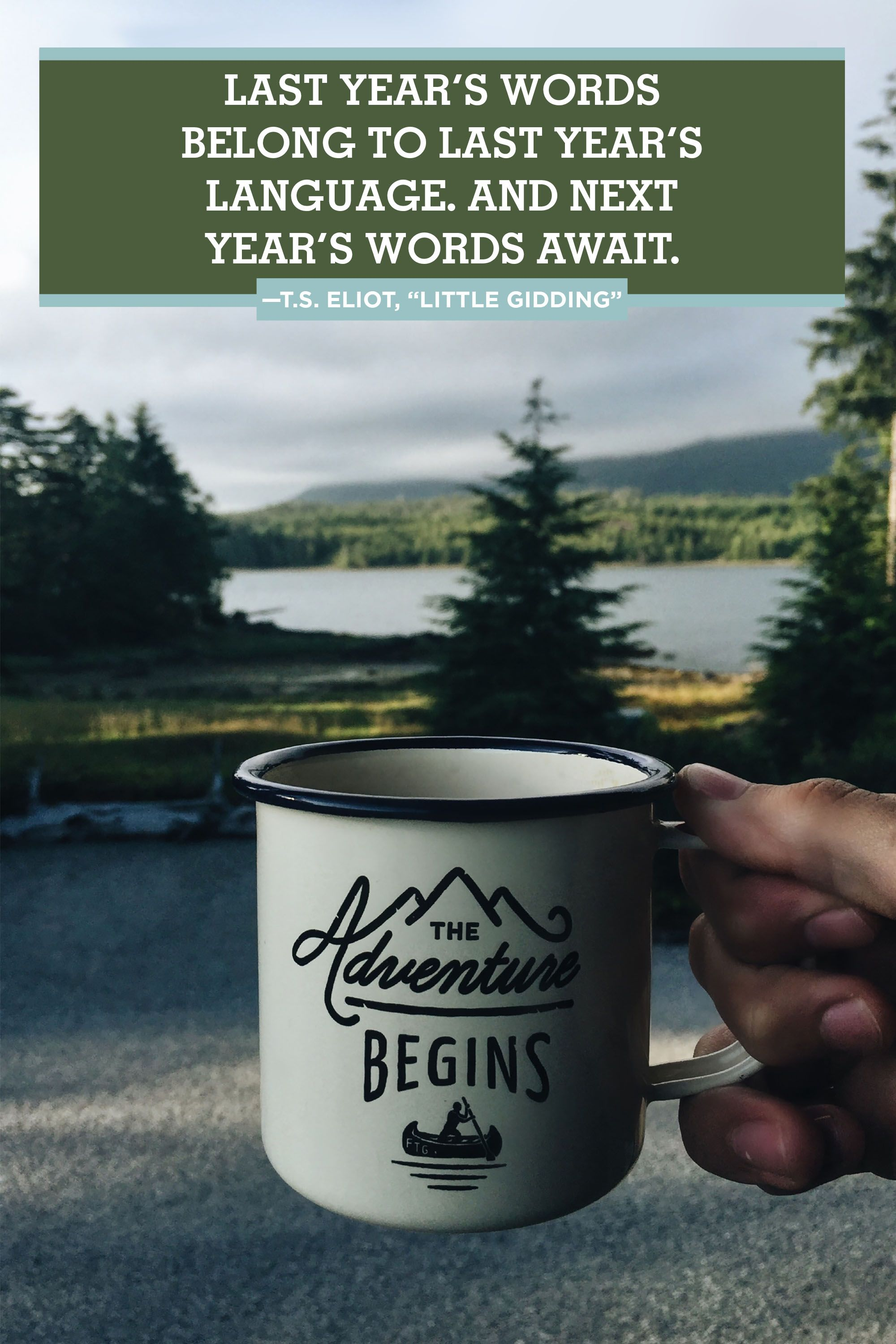 Image of: Forest 25 Inspirational Quotes To Ring In The New Year Country Living Magazine 25 Happy New Year 2019 Quotes Inspirational New Years Eve Quotes