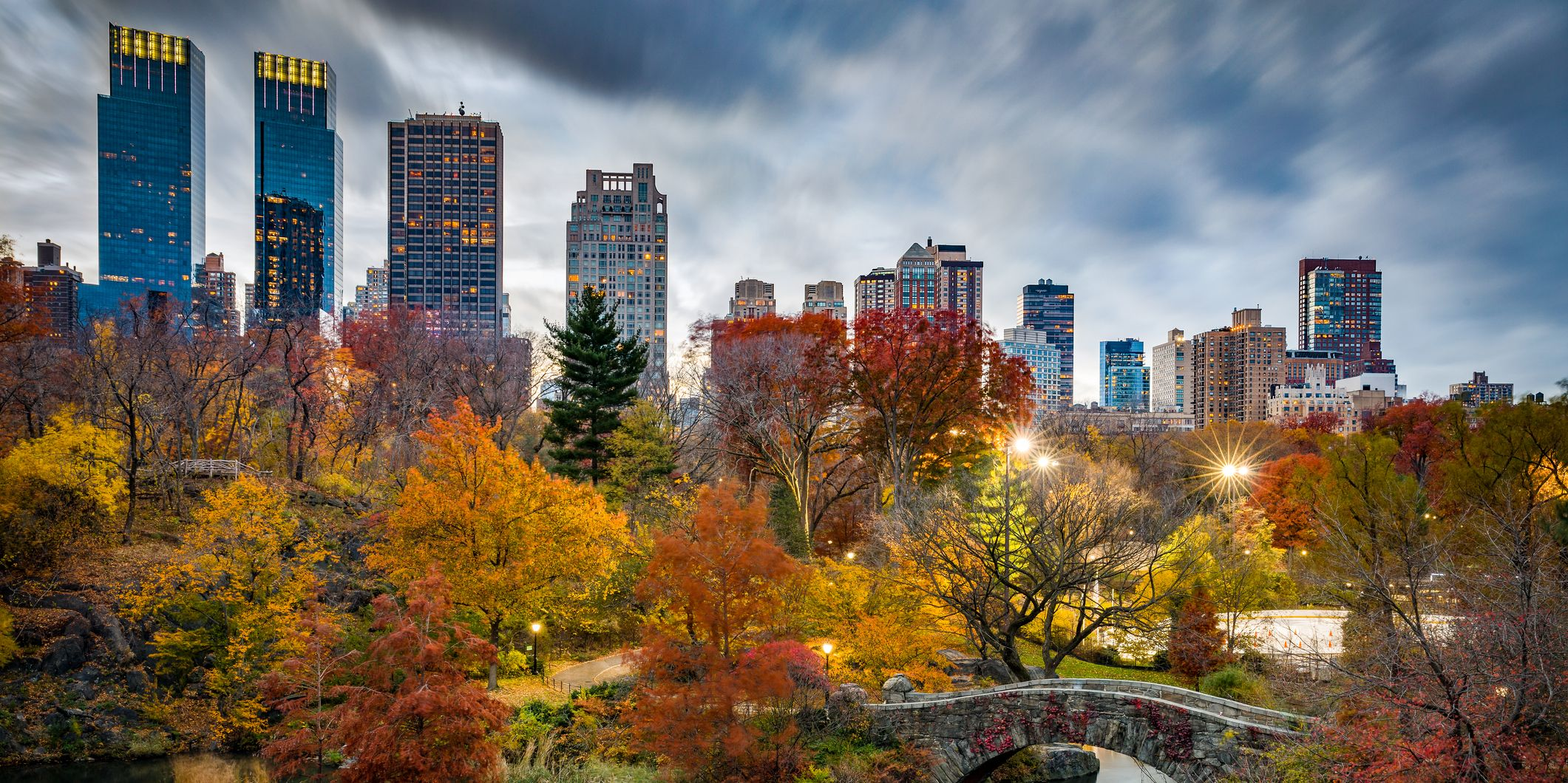 New York Central Park during Autumn