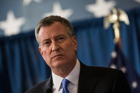 Mayor De Blasio Announces City Dropping Stop-And-Frisk Appeal