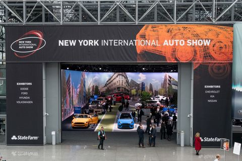 New York International Auto Show in New York City.    The New...