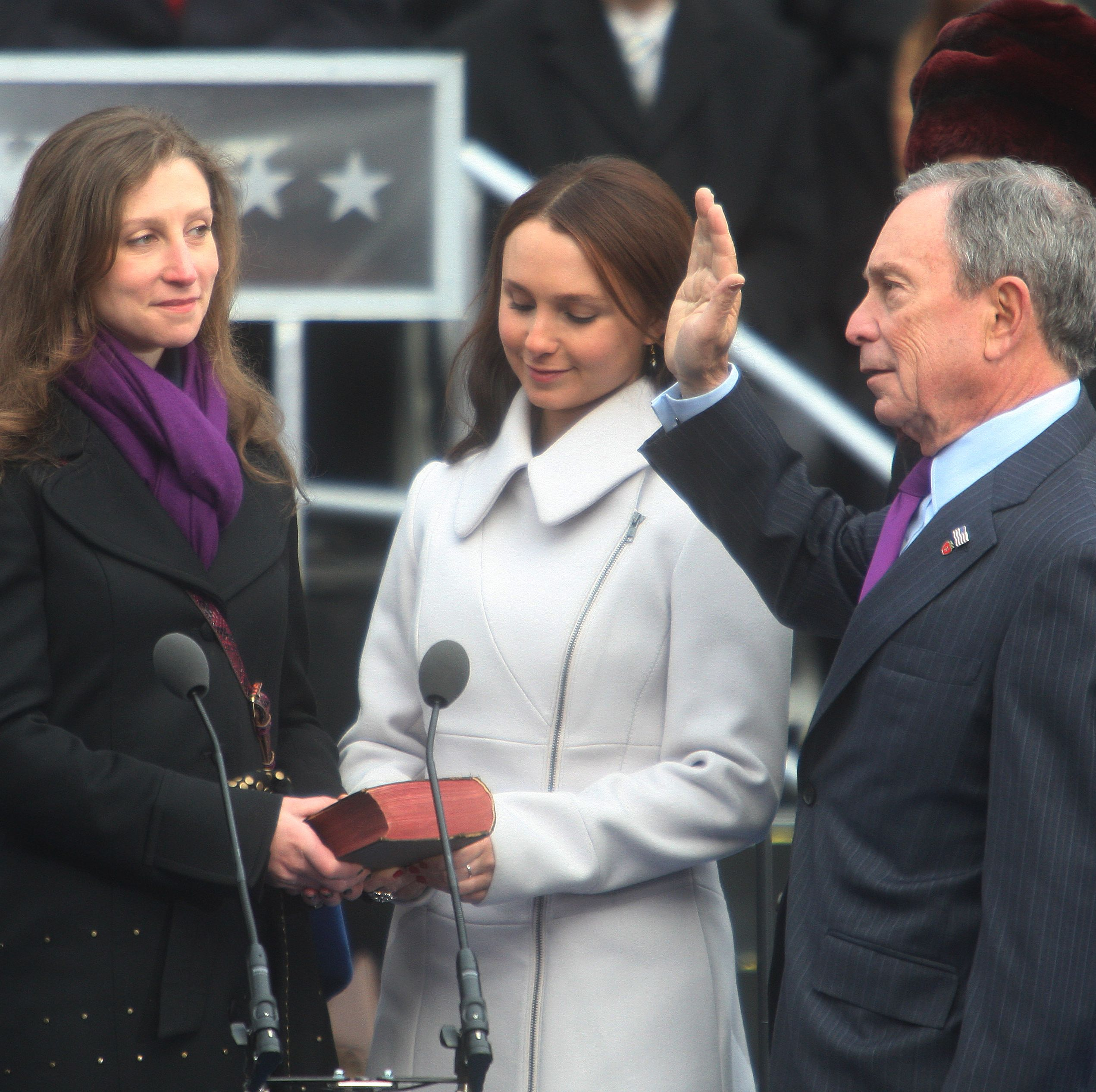 Michael Bloomberg Is Sworn In For Third Term As New York City Mayor
