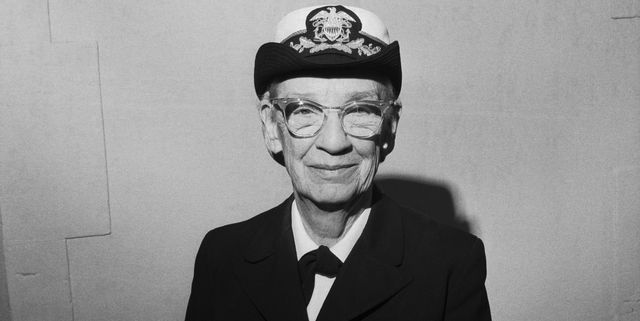 computer scientist and navy officer grace murray hopper