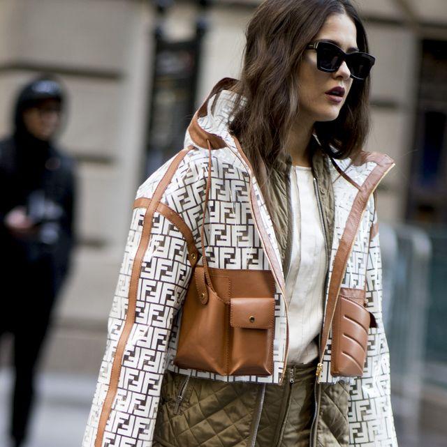 Clothing, Street fashion, White, Fashion model, Fashion, Eyewear, Outerwear, Shoulder, Snapshot, Sunglasses,