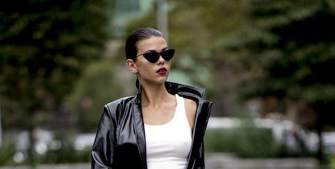 timeless design 47dbd 2b5d8 Come indossare la giacca di pelle: 12 abbinamenti moda perfetti