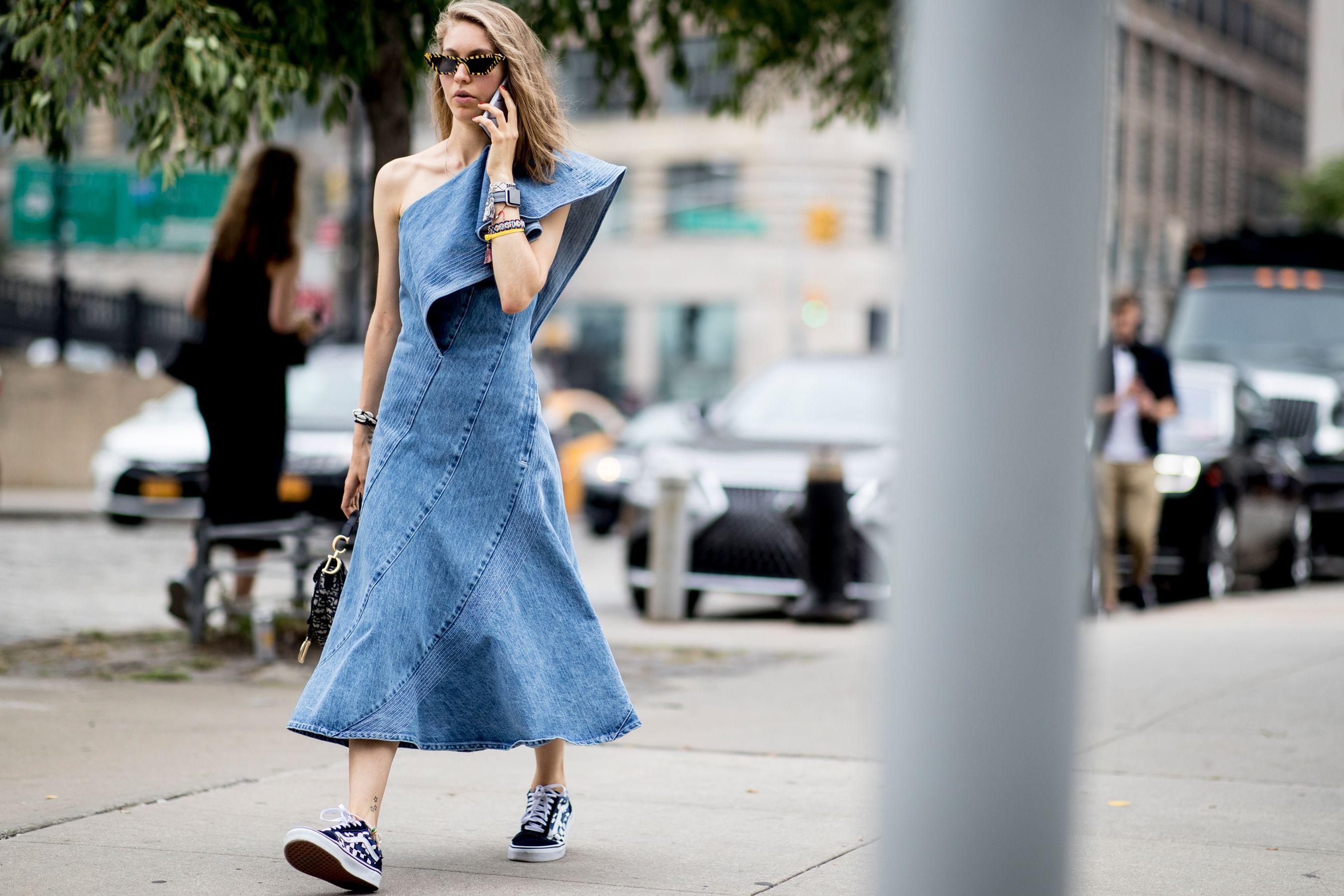 潮人球鞋穿搭, 球鞋穿搭, 紐約時裝週街拍, 街拍, 球鞋穿搭術