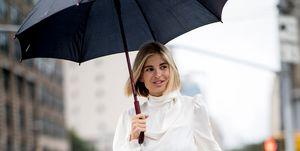 Cómo vestir en días de lluvia