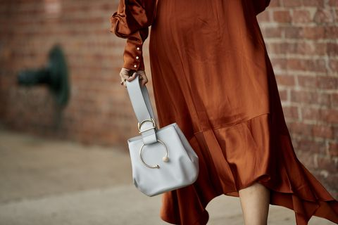 Clothing, Brown, Street fashion, Fashion, Tan, Outerwear, Footwear, Dress, Leather, Joint,