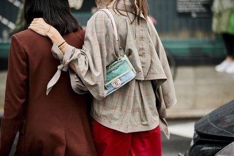 People, Street fashion, Snapshot, Street, Human, Fashion, Infrastructure, Hand, Outerwear, Road,