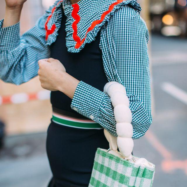 new york fashion week estampado de cuadros vichy