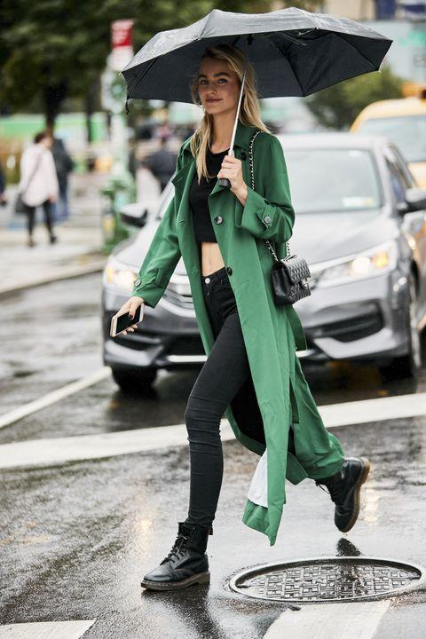 梅雨季穿搭 下雨天跟時尚潮人這樣穿