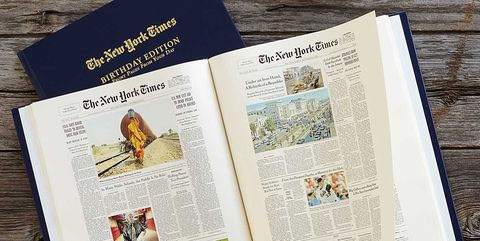 New York Times Birthday Edition Book