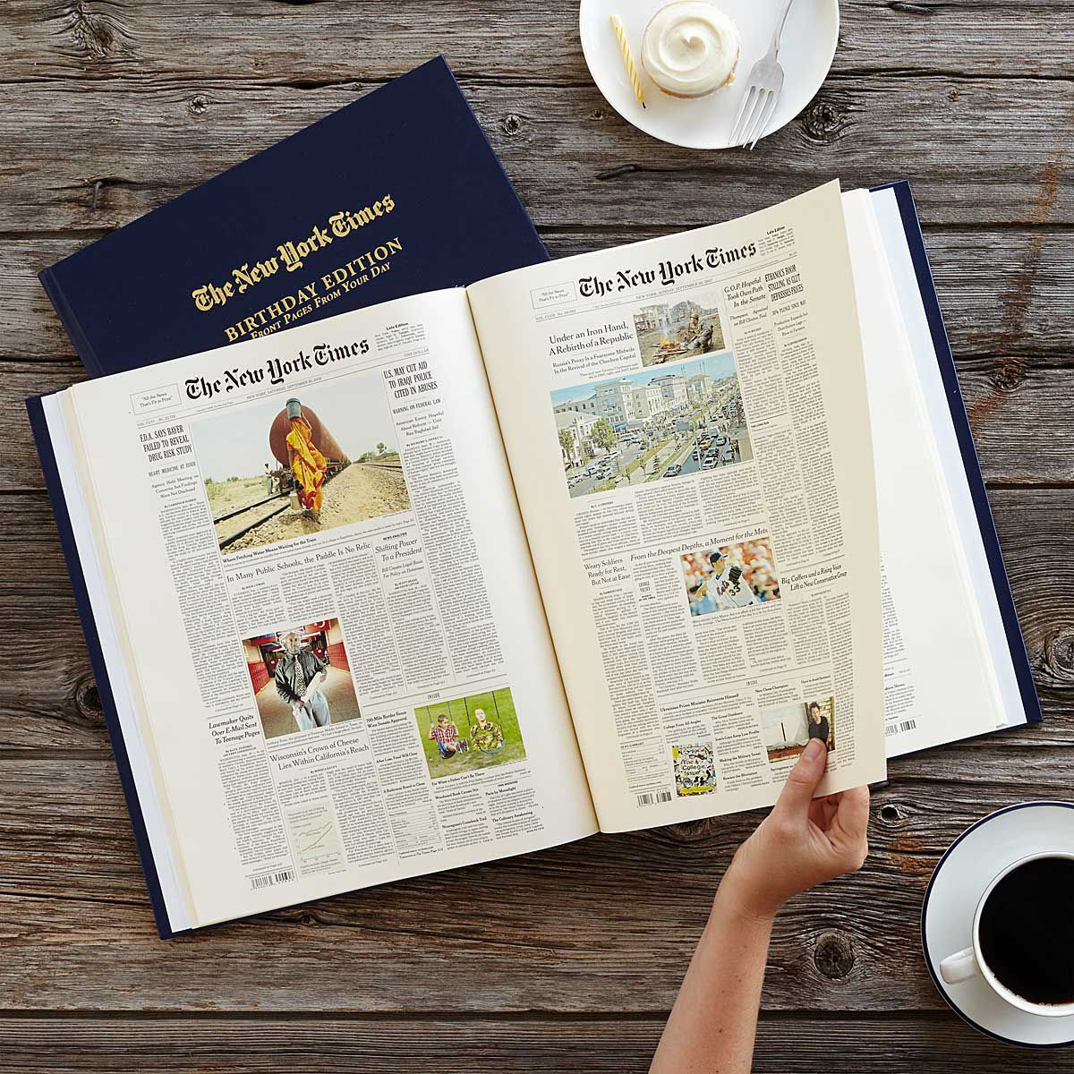new york times birthday edition book & 20+ Best Gift Ideas for Grandpa - Unique Grandad Gifts
