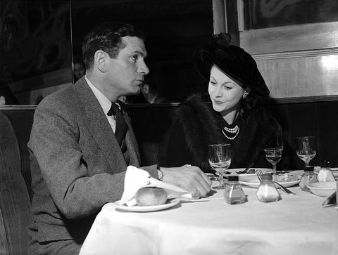 Vivien Leigh and Laurence Olivier in Sydney, 1948