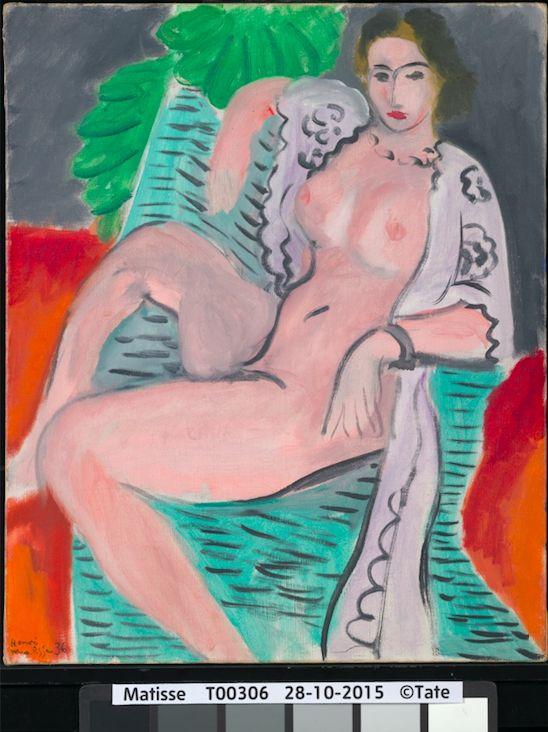 《裸:泰德美術館典藏大展》,馬諦斯