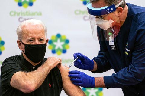 ジョー・バイデン ワクチン 新型コロナウイルス感染症