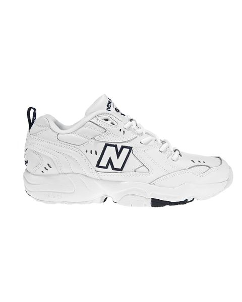 new balance 608 trainers in black and white   £60