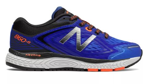 Shoe, Footwear, Running shoe, Outdoor shoe, Sneakers, Athletic shoe, Walking shoe, Blue, White, Electric blue,