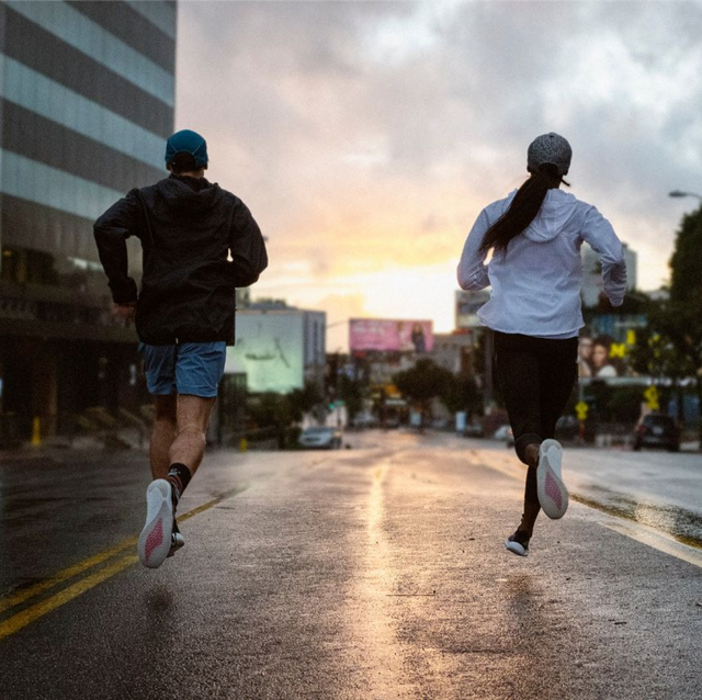 Clothing, Road, Road surface, Asphalt, Street, Running, Shorts, Jogging, Urban area, Pedestrian,