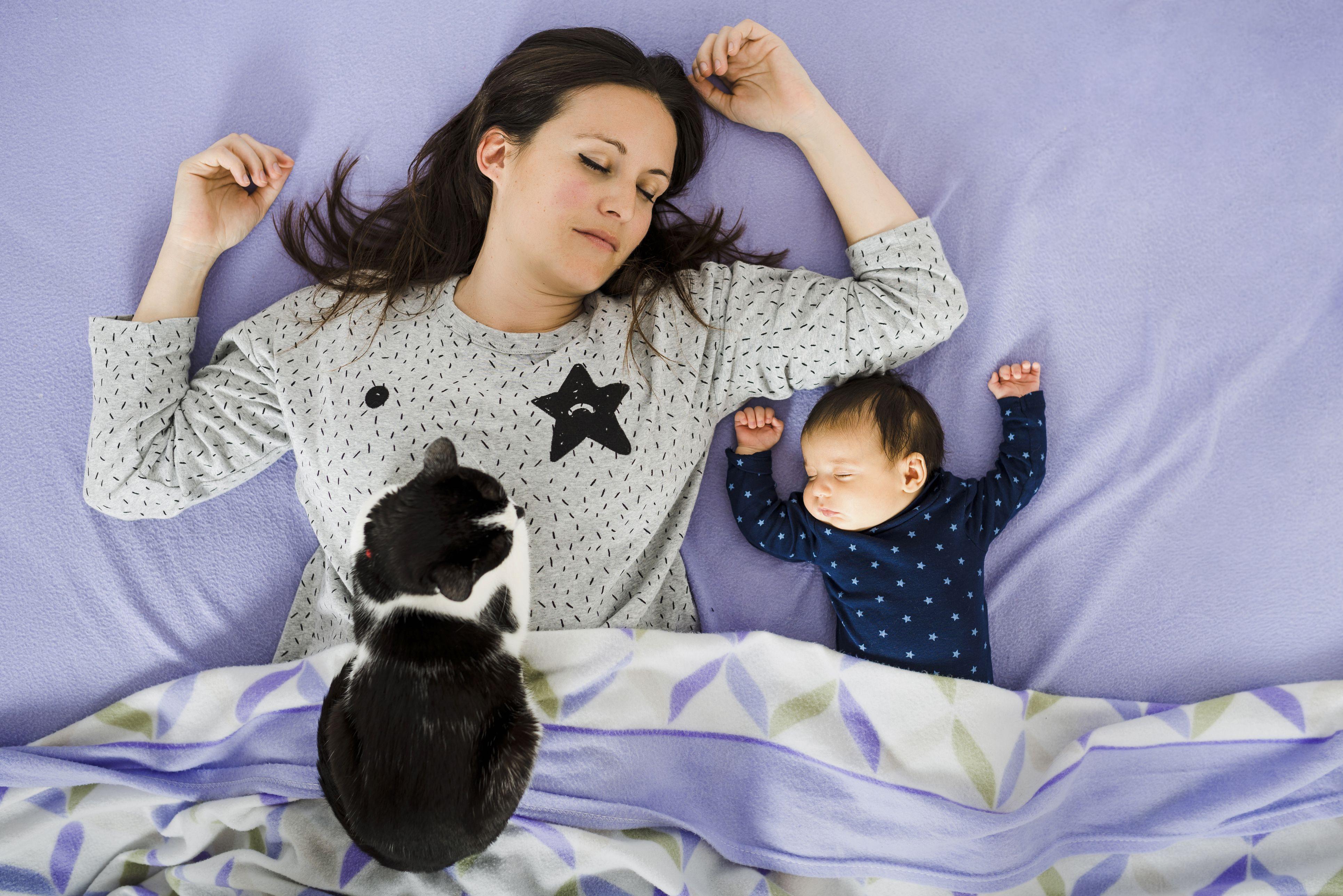 agotamiento tras el parto