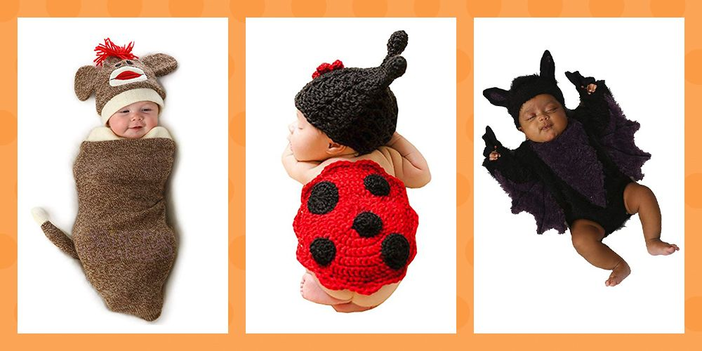 Halloween newborn costume ideas & 17 Newborn Halloween Costume Ideas - Cute Baby Costumes