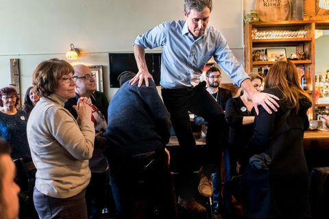 2020 Democratic Presidential candidate Beto ORourke
