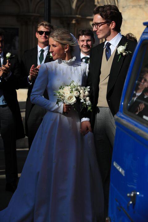 Ellie Goulding S Wedding Dress Was Designed By Chloe