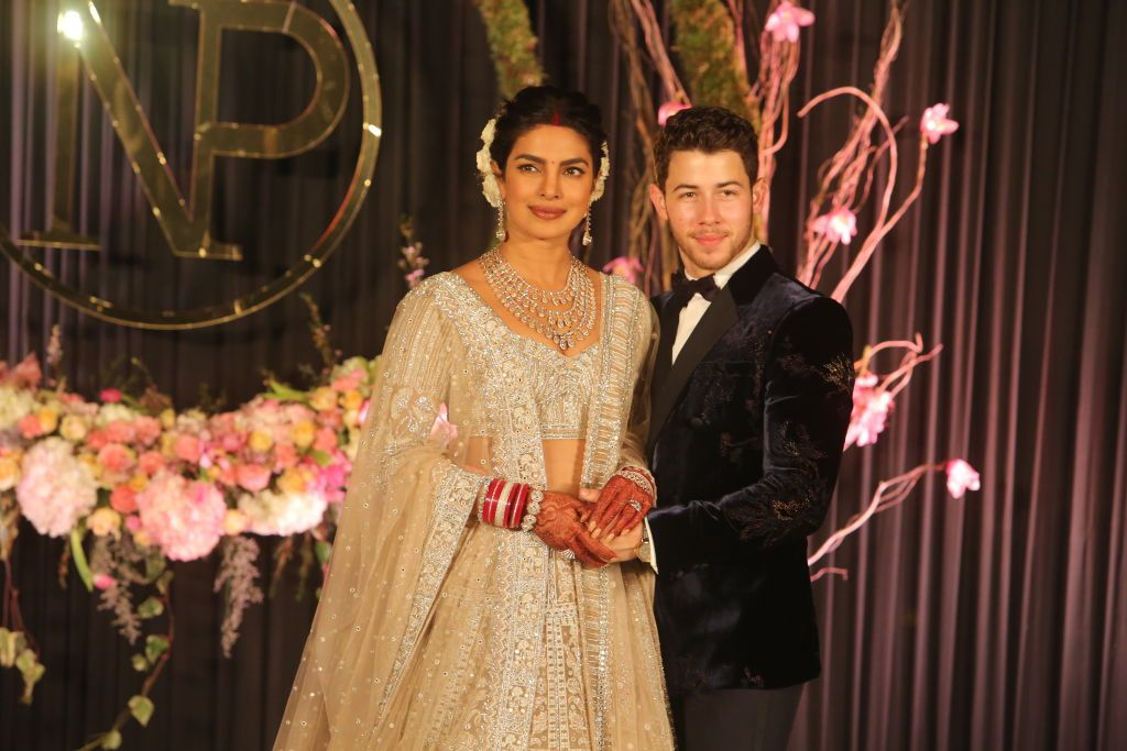 With a week of pre-wedding celebrations in Delhi and Mumbai, the couple held both Christian and Indian wedding ceremonies, which took place at Taj Umaid Bhawan Palace in Jodhpur.