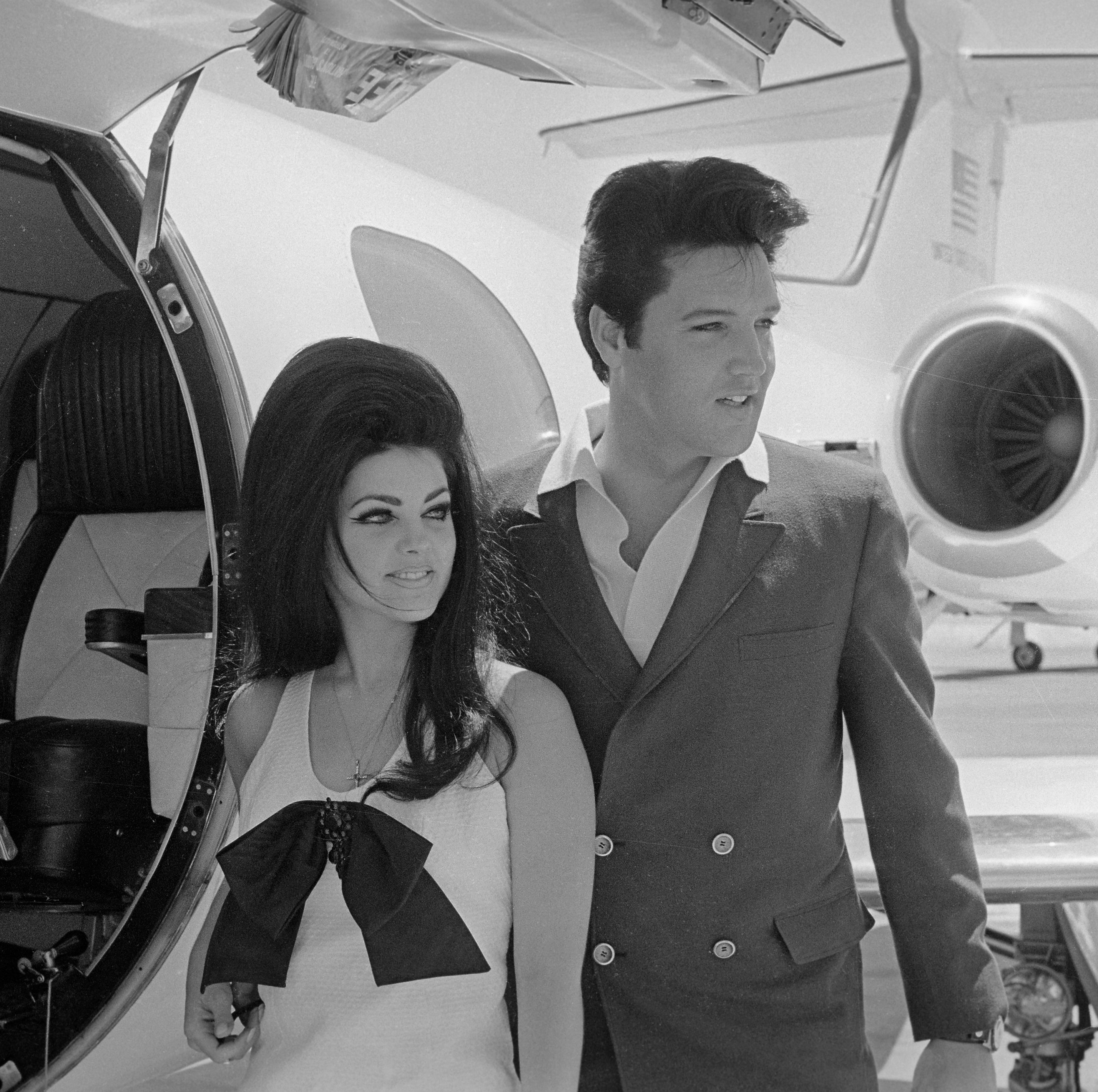 Elvis Presley's Private Jet Is Up for Auction Complete With Red Velvet Seats